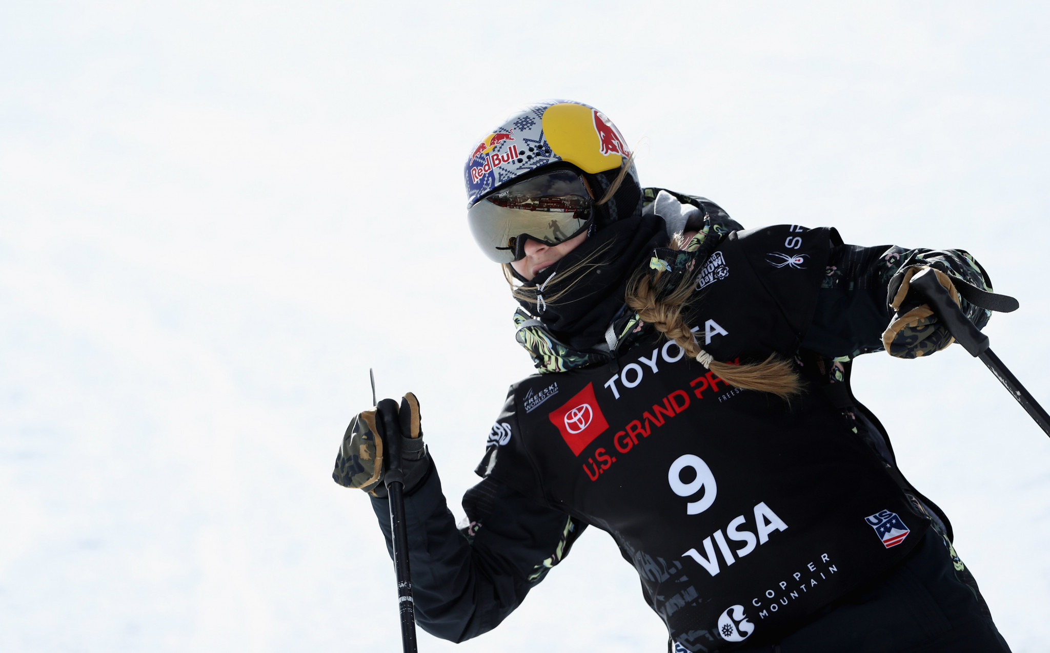 Estonia's Kelly Sildaru upstaged the Olympic champion in Copper Mountain ©Getty Images