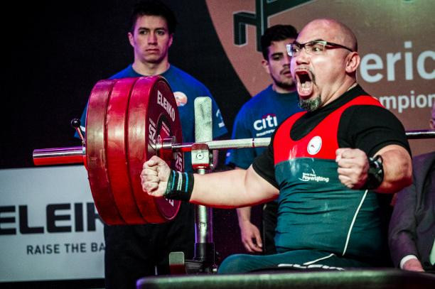 Chile win triple gold at World Para Powerlifting Americas Open Championships