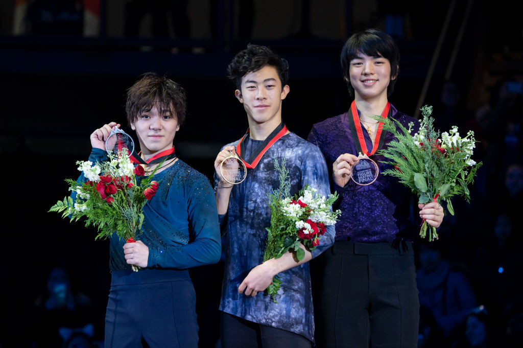 America's Chen wins men's ISU Grand Prix of Figure Skating Final title in Vancouver
