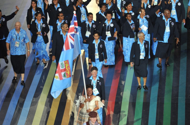 Paul Yee was Team Fiji's section manager at the Glasgow 2014 Commonwealth Games