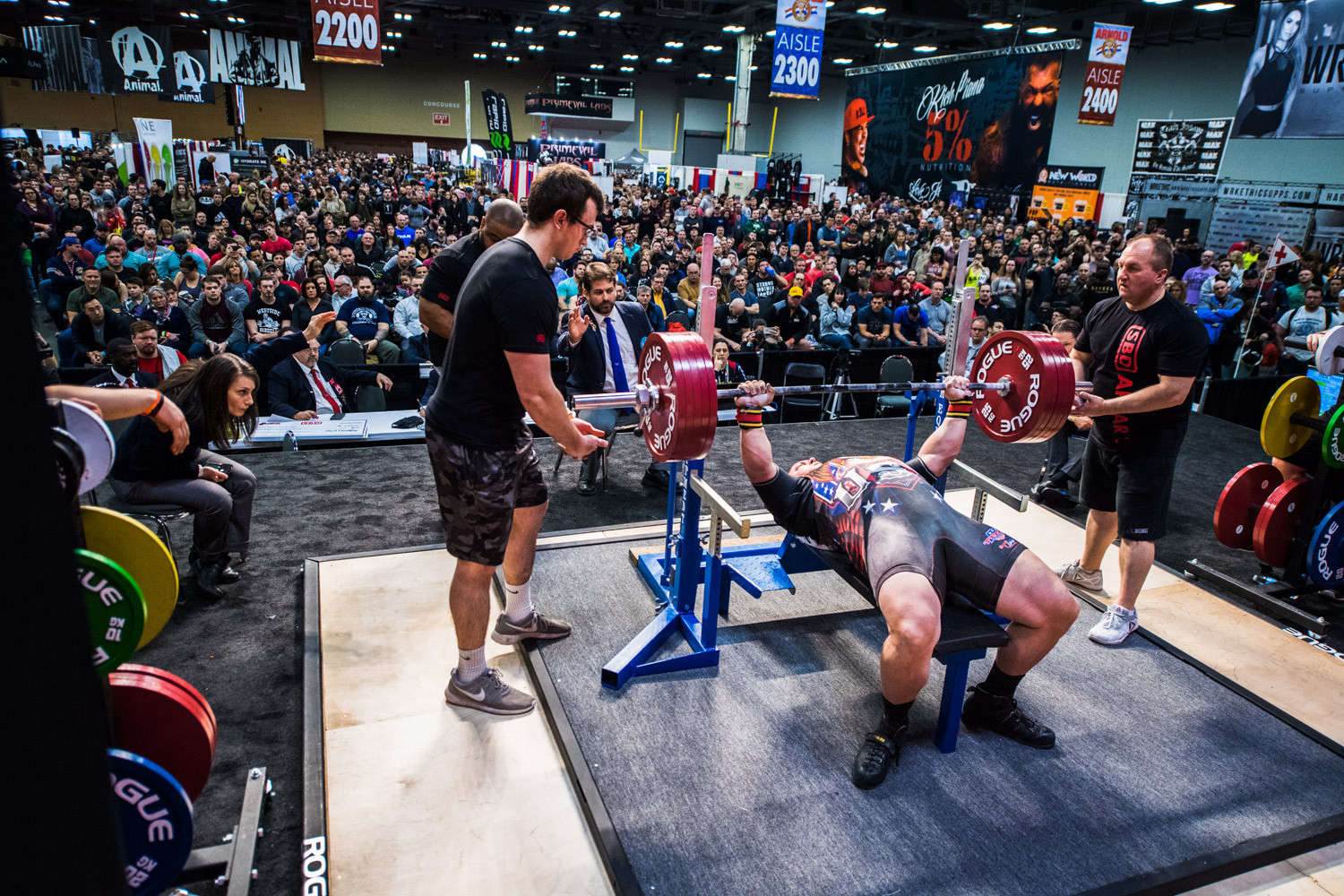 USA Powerlifting has 20,000 registered members and is the sport's dominant country ©USAPL