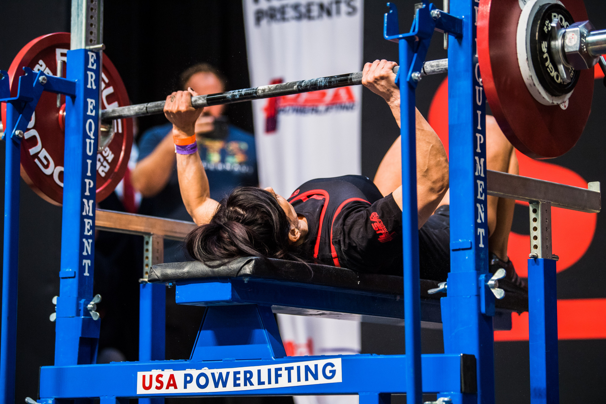 USA Powerlifting organises nearly 400 competition per year and carries out 2,000 drugs tests ©USAPL