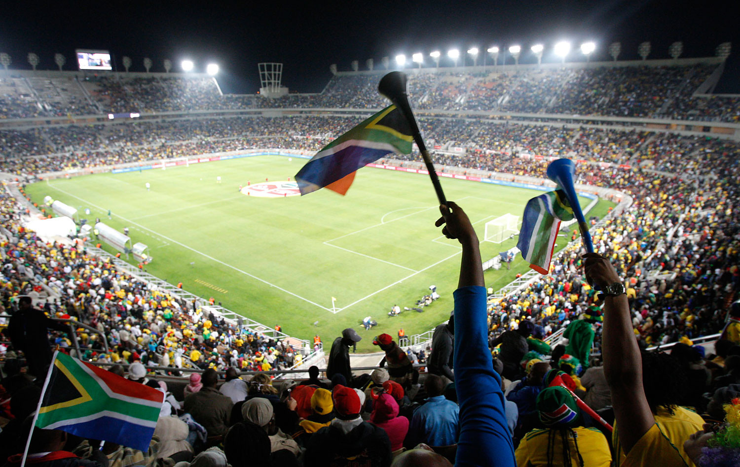 South Africa would use the facilities built for the 2010 FIFA World Cup to host the 2019 Africa Cup of Nations if they are chosen to replace Cameroon ©Getty Images
