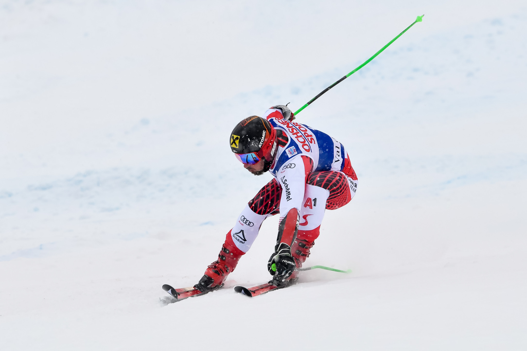 Marcel Hirscher recorded a 60th victory on the World Cup circuit ©Getty Images