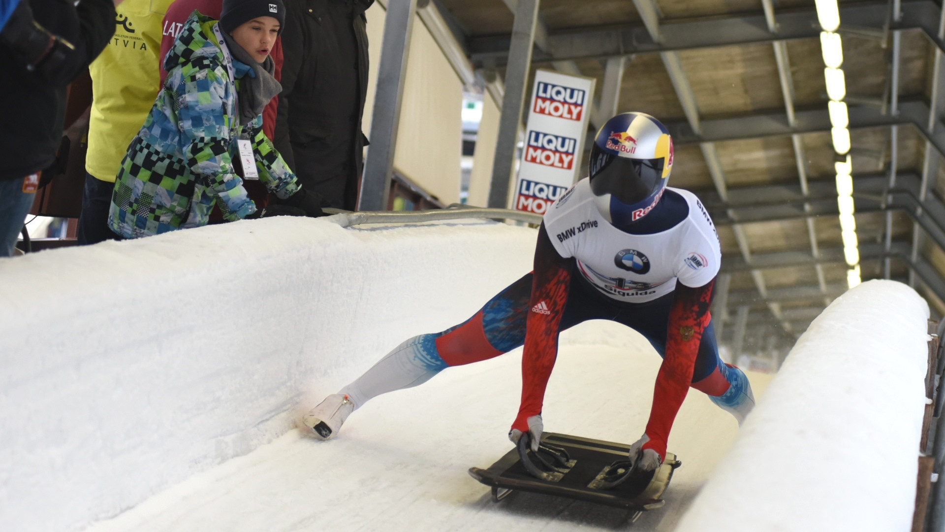 Russian skeleton racer Tregubov secures first IBSF World Cup win in Sigulda