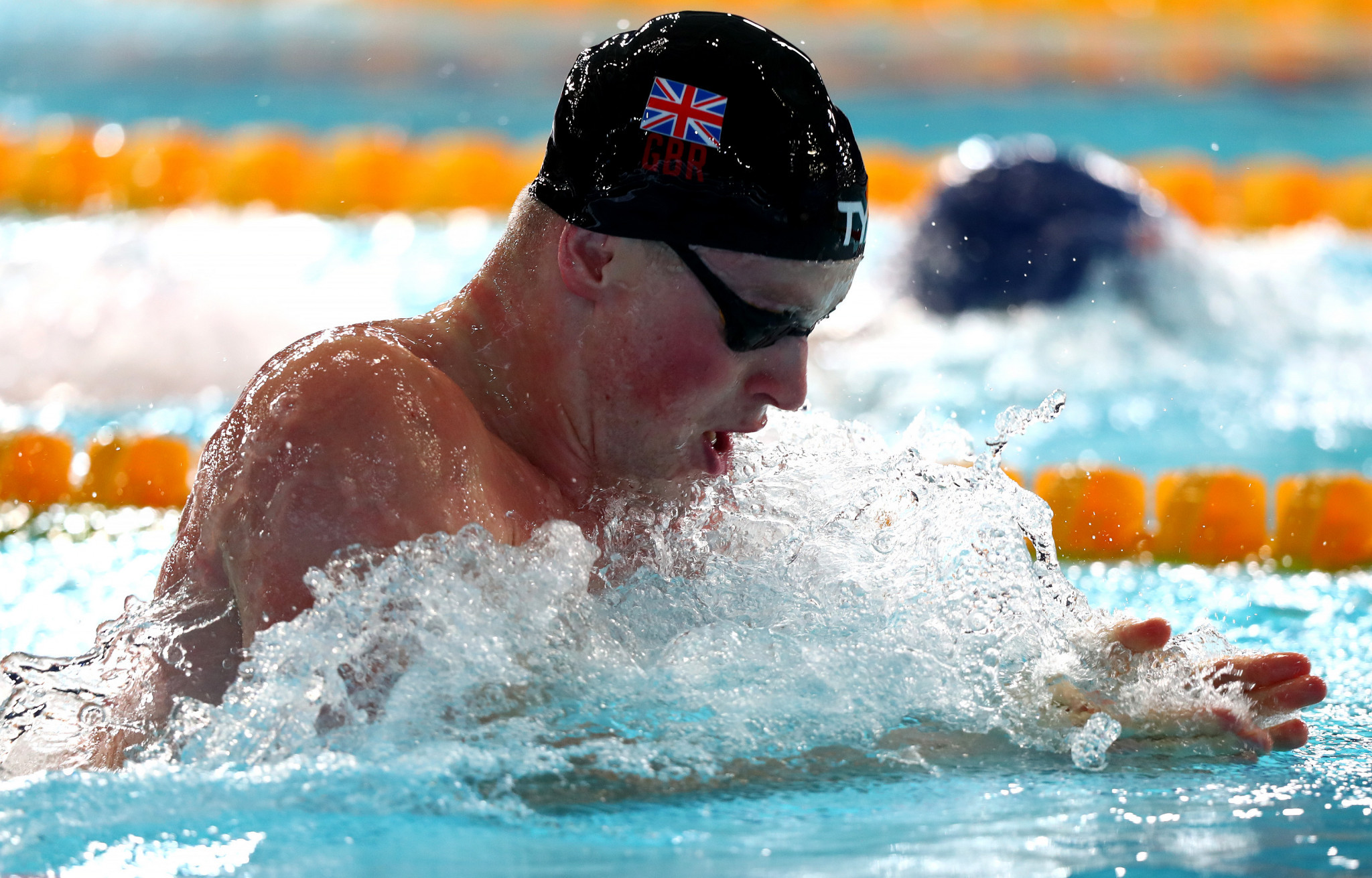 Britain's Adam Peaty was among the top names set to compete in the 2018 Energy for Swim meeting in Turin later this month before it was cancelled after FINA threatened to ban anyone who took part ©Getty Images