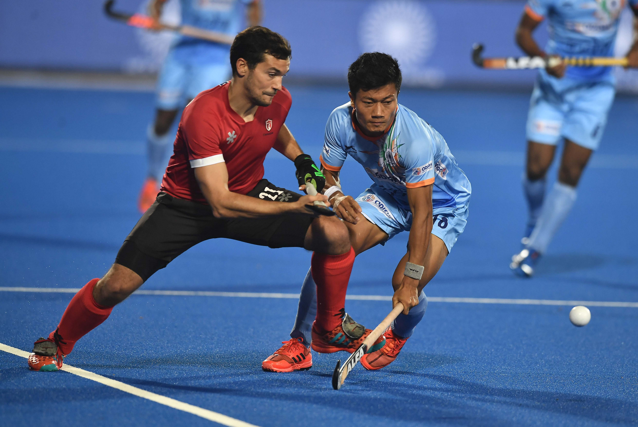 Hosts India qualify directly for last eight at Hockey Men's World Cup after Canada thrashing