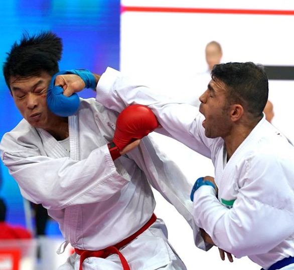 Action continued today at the second-tier event in Shanghai ©WKF