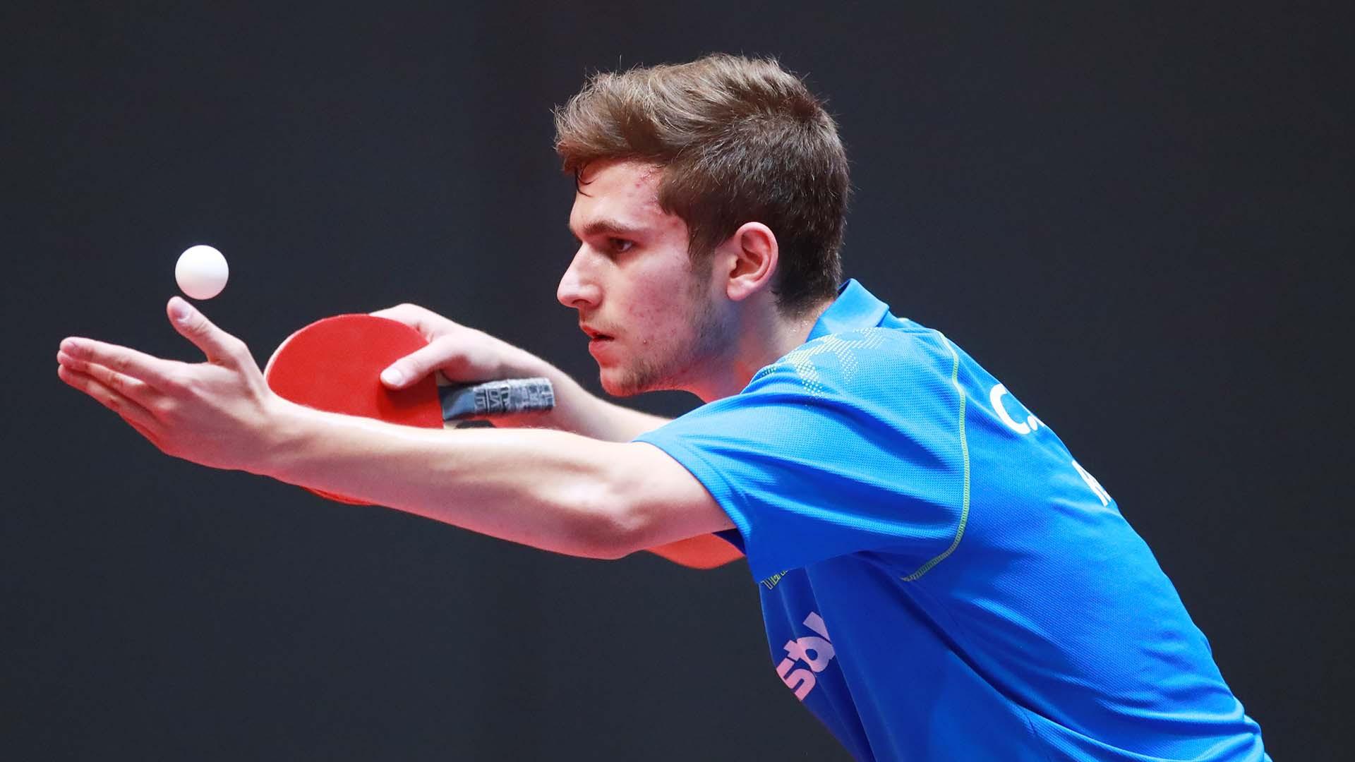 Romania's Cristian Pletea will play China's Xu Haidong in the semi-finals of the ITTF World Junior Championships ©ITTF