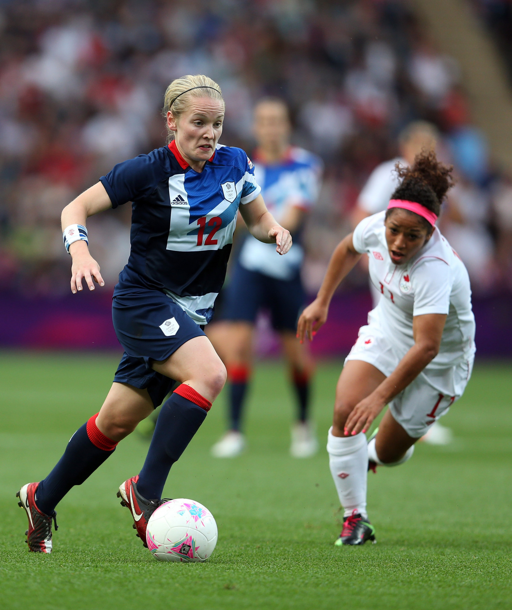 Kim Little was one of two Scottish players in the London 2012 squad ©Getty Images