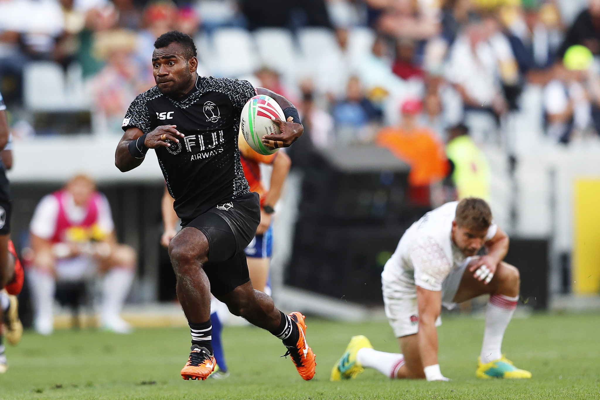 Fiji, Australia and United States unbeaten after first day of World Rugby Sevens Series in Cape Town