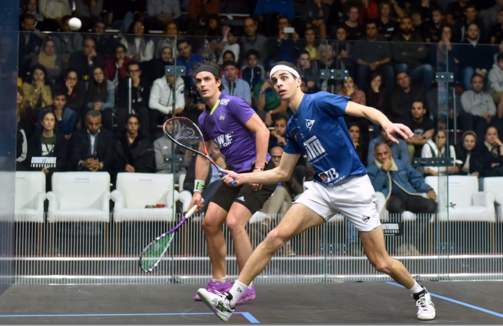 Farag to play Gawad in all-Egyptian final at Black Ball Squash Open in Cairo