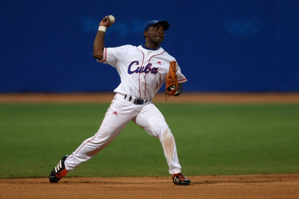 The tournament features the world's top 12 baseball teams including Olympic silver medallists Cuba