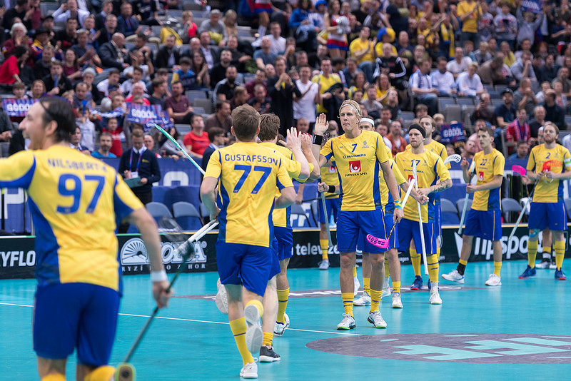 Sweden and Finland reach Men's Floorball World Championships final
