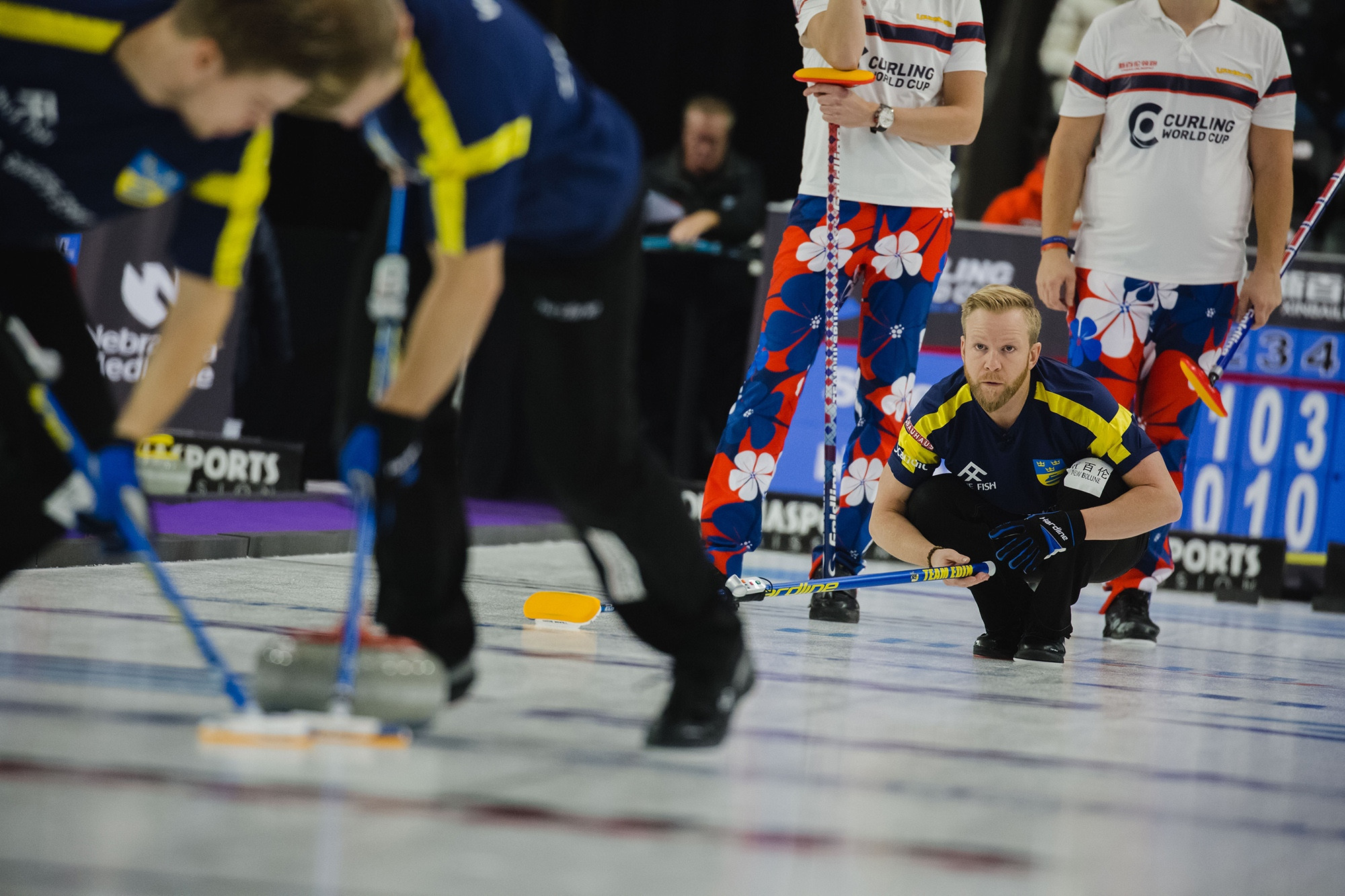 Olympic final rematch to take place between Sweden and United States at Curling World Cup in Omaha