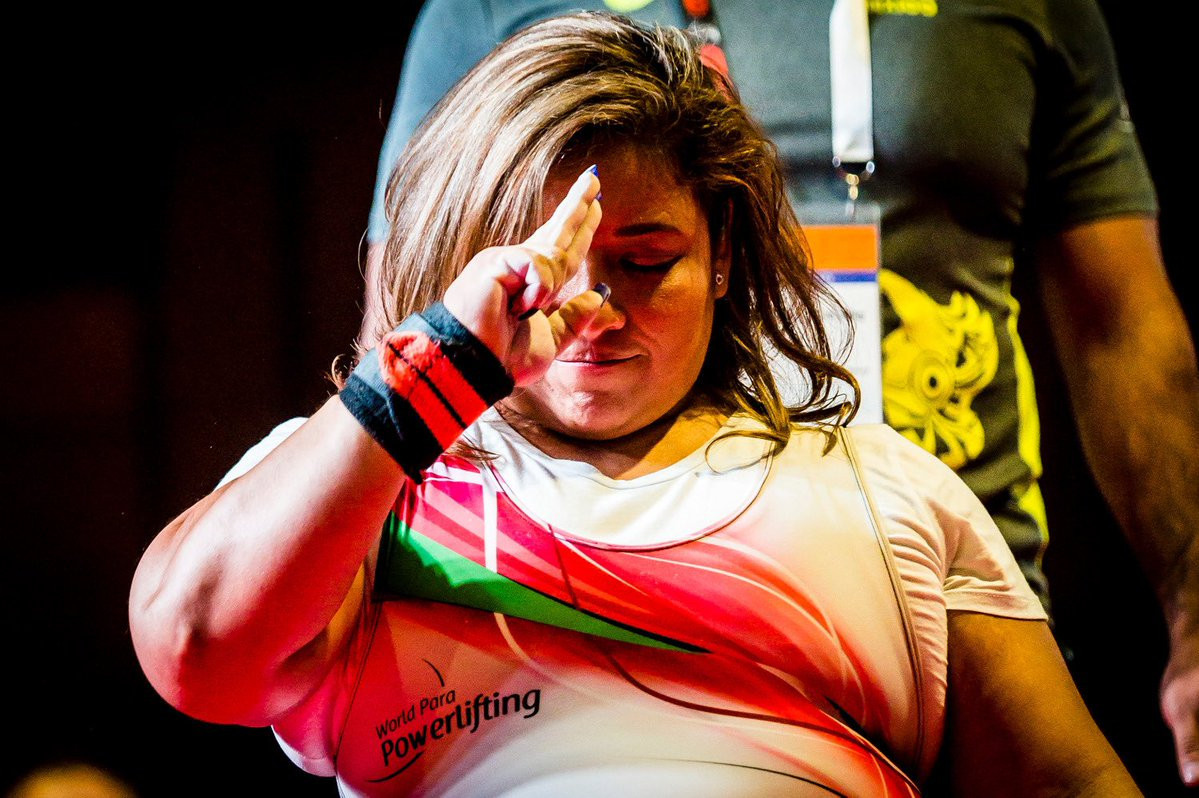 Mexico pick up two gold medals on day three of World Para Powerlifting Americas Open Championships