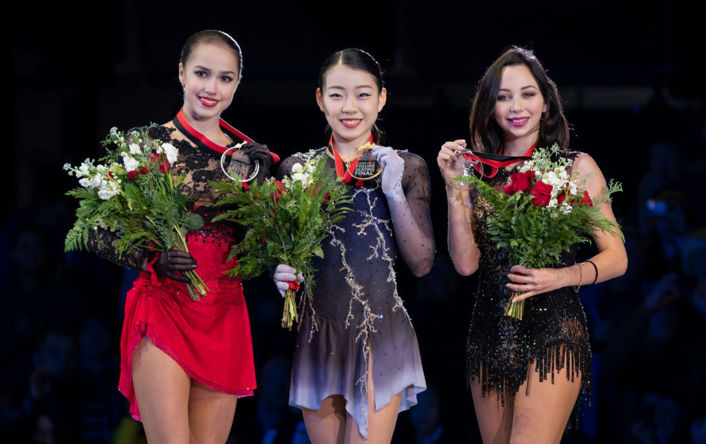 Sixteen-year-old Rika Kihira won the ISU Grand Prix of Figure Skating Final, beating Russia's defending champion Alina Zagitova to do so ©ISU