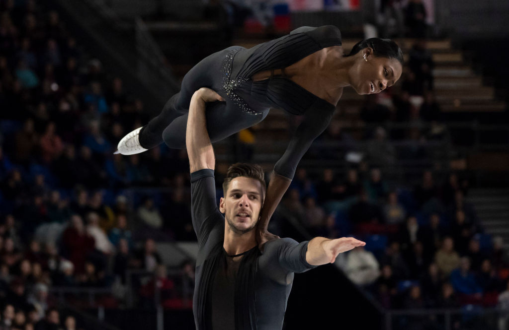 France's Vanessa James and Morgan Cipres won their first ISU Grand Prix of Figure Skating Final title in the pairs ©ISU