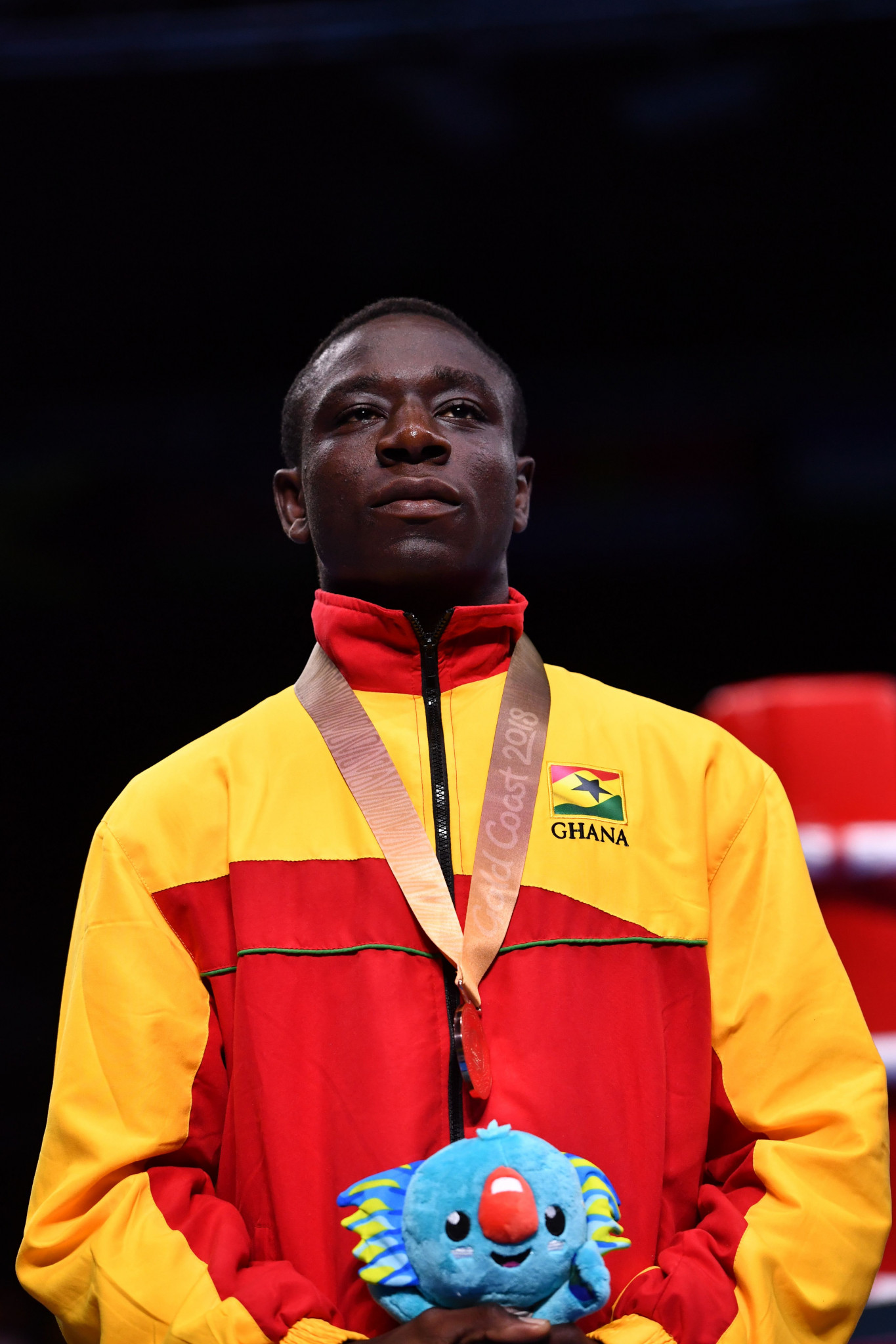Boxer Jessie Lartey won aCommonwealth Games bronze at Gold Coast 2018 - the country's only medal of an event overshadowed by a row over allegations of a visa scam involving Government officials ©Getty Images