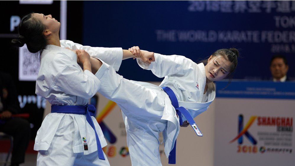 Sanchez continues outstanding run with another medal as 2018 WKF Karate 1-Series A Tour ends in Shanghai