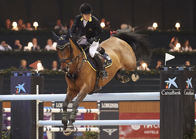 Tops-Alexander tops field on inexperienced Vinchester at FEI Jumping World Cup in La Coruna