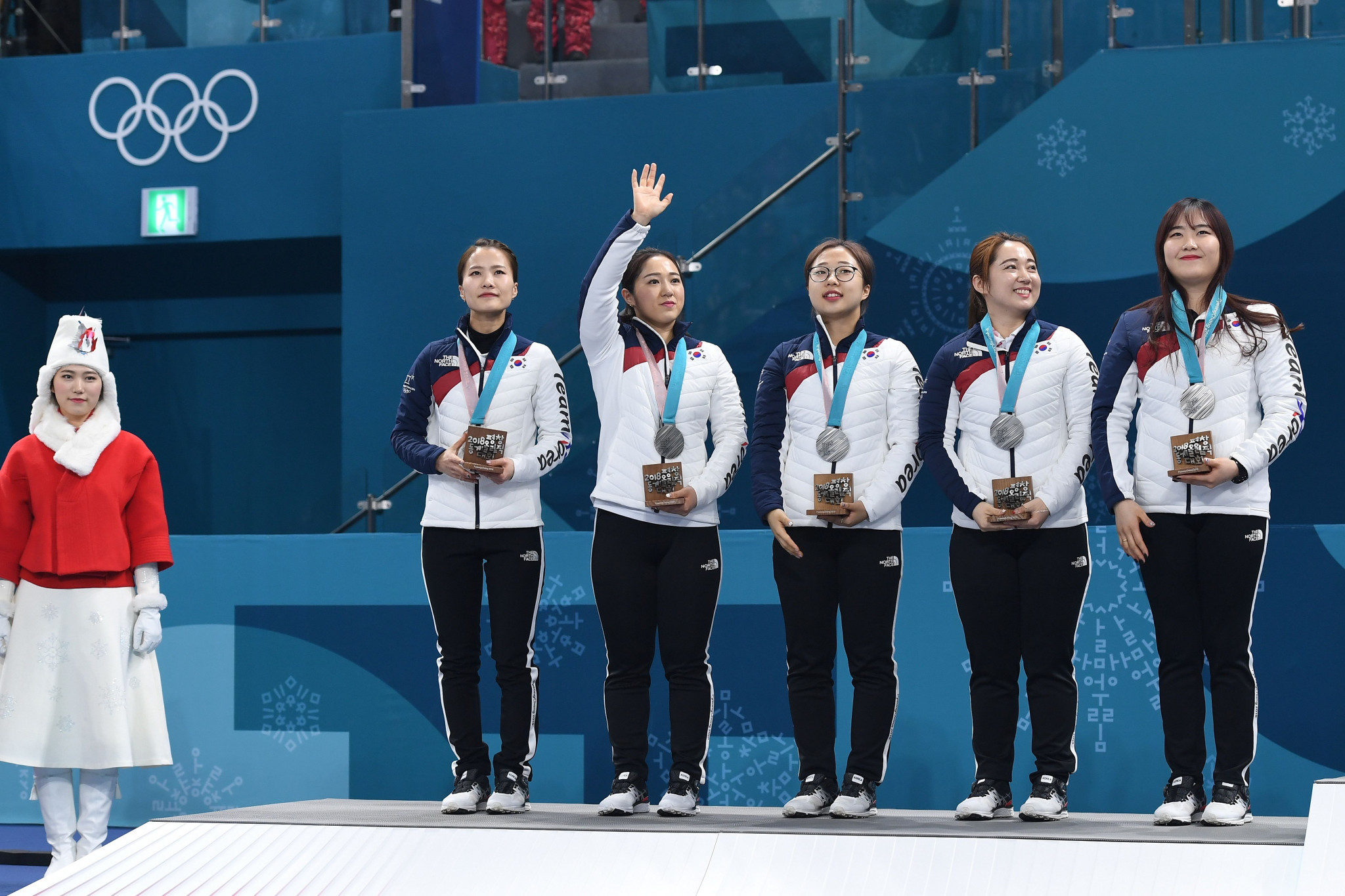 The South Korean women's curling team won their country's first Olympic medal in curling after achieving silver at the 2018 Pyeongchang Winter Games ©Getty Images