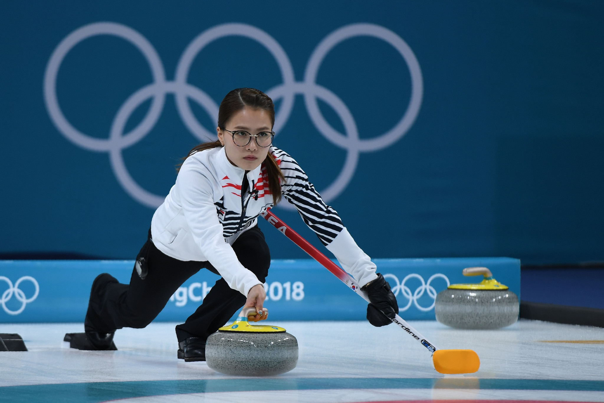 Kim Kyung-doo has been accused of apparently trying to sideline captain Kim Eun-jung, pictured, for expressing her desire to have a family ©Getty Images