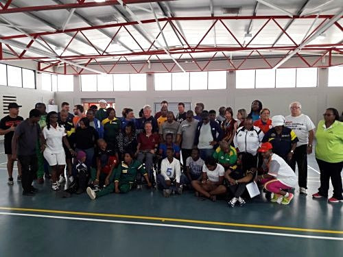 South Africa stages fourth IBSA Goalball Africa workshop