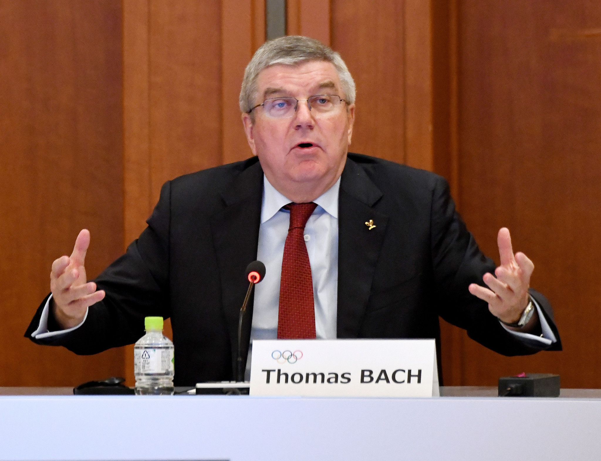 IOC President Thomas Bach has formally asked the Senegalese Government to cooperate with French authorities ©Getty Images