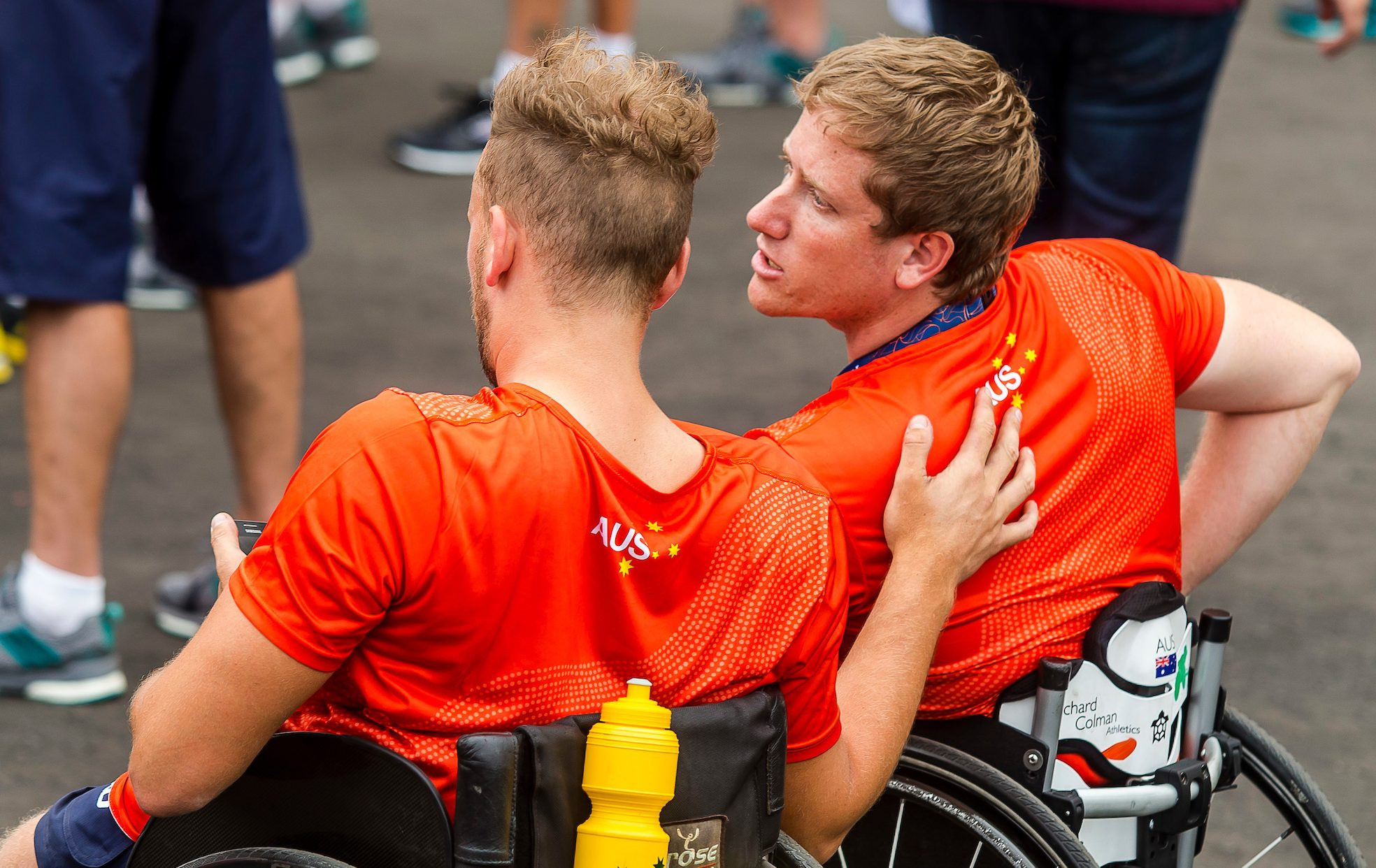 Australian Paralympic Committee agree deal with mental health charity