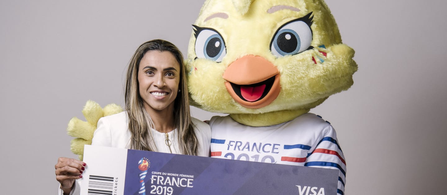 First individual tickets available for 2019 FIFA Women's World Cup in exclusive Visa presale