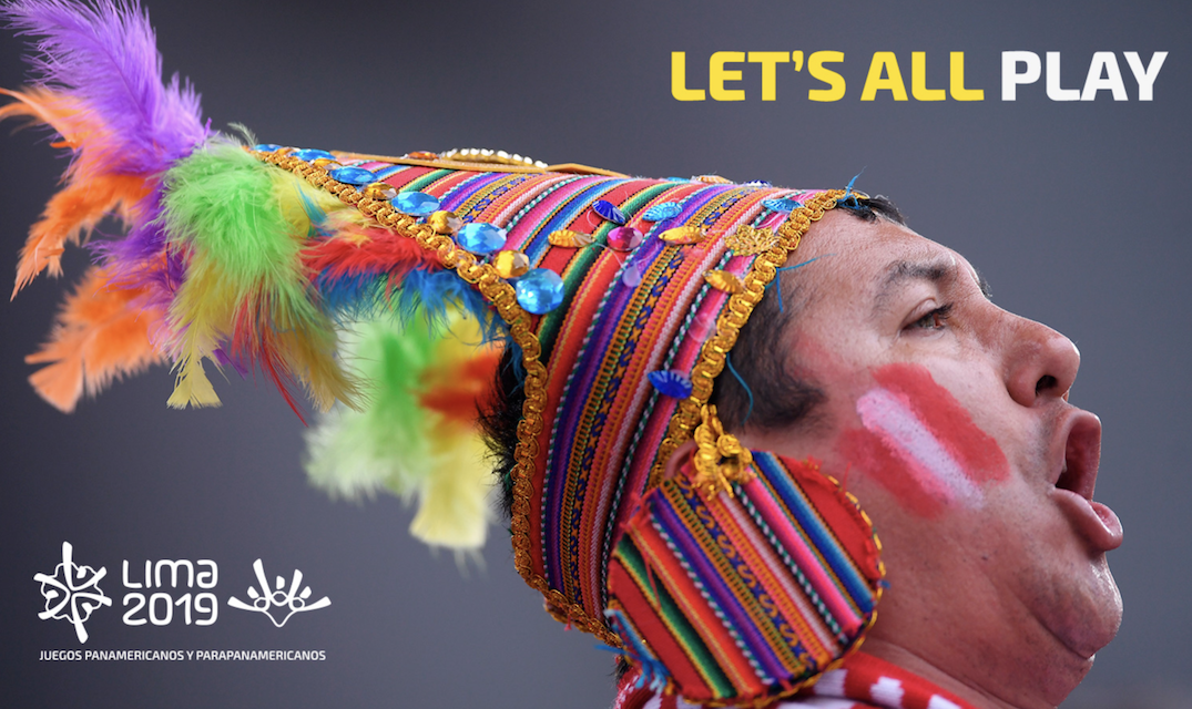 """Let's all play"" has been revealed as the official slogan of the 2019 Pan American Games in Lima ©Lima 2019"