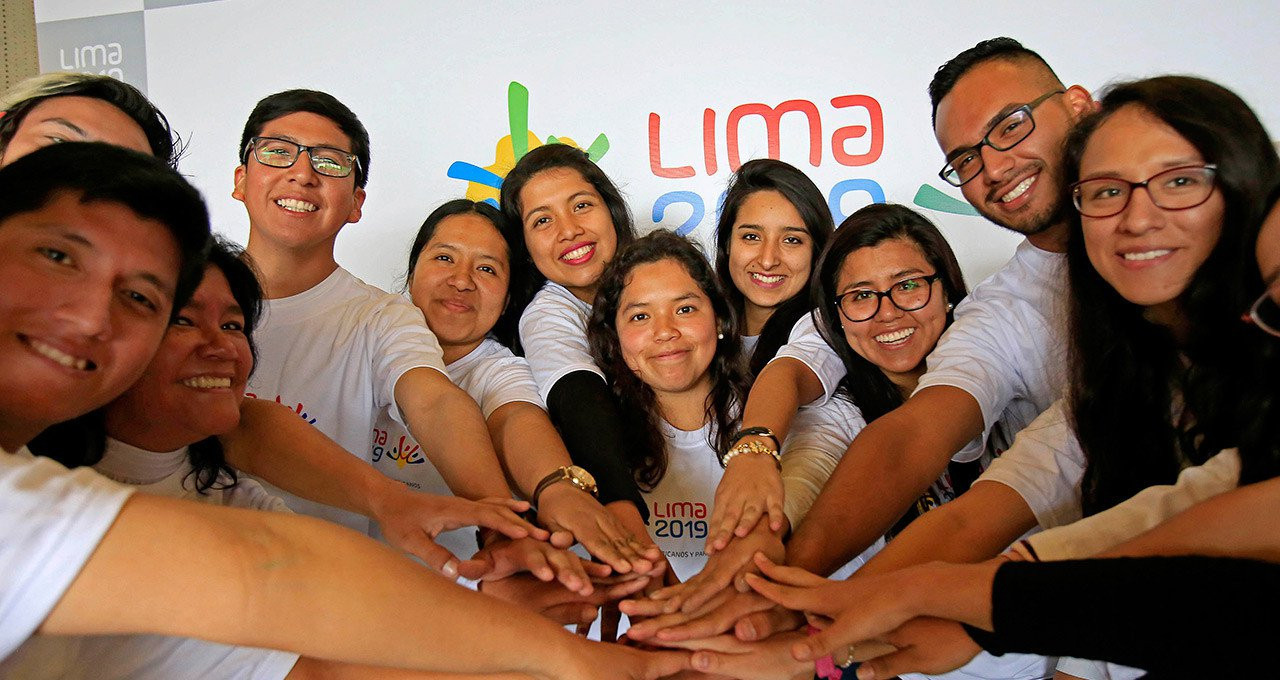 Last week it was revealed 60,000 people have so far signed up to be volunteers ©Lima 2019