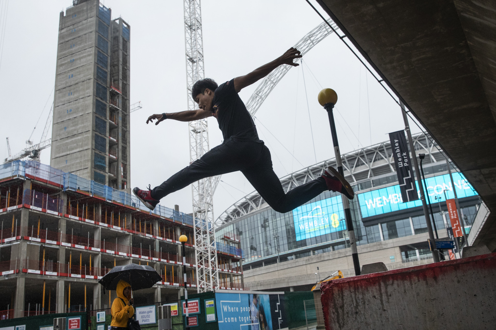 The row over the ownership of parkour has intensified in recent months ©Getty Images