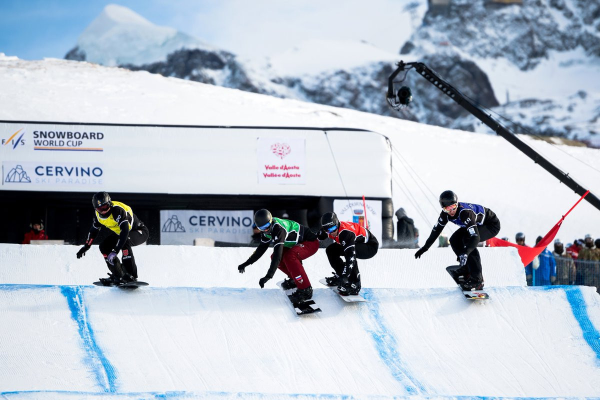 Cervinia to host extra FIS Snowboard Cross World Cup event after cancellation of season opener