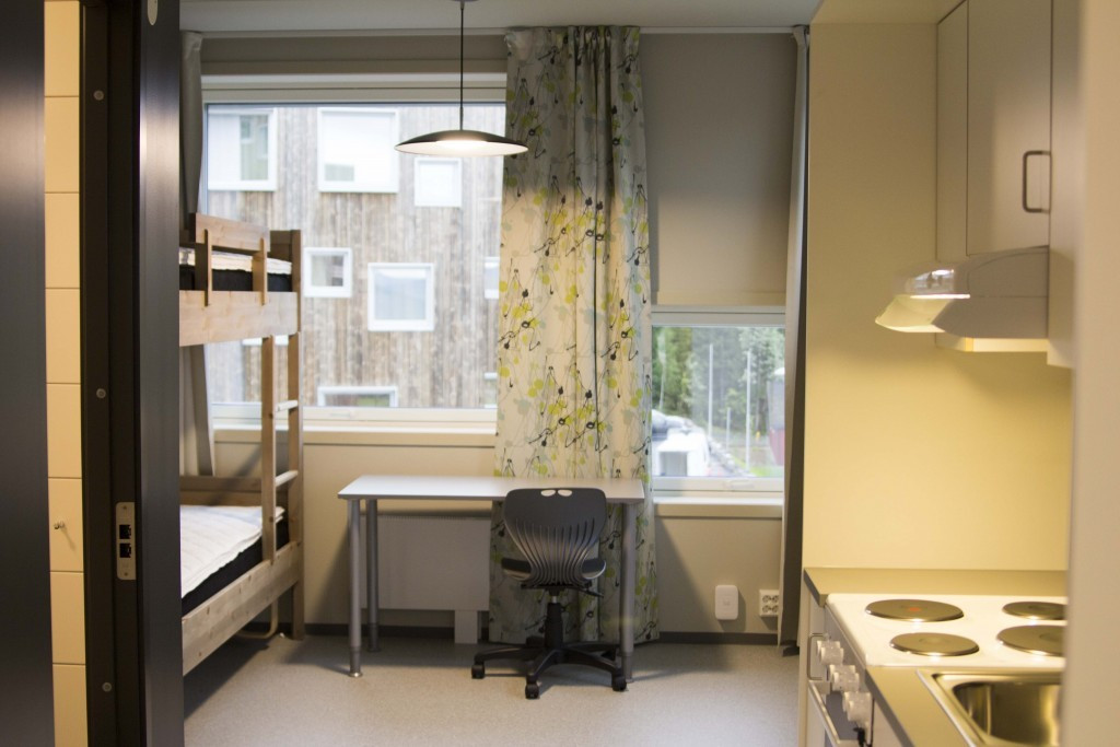 A typical apartment to be used by up to four athletes during next year's Winter Youth Olympic Games ©Lillehammer 2016