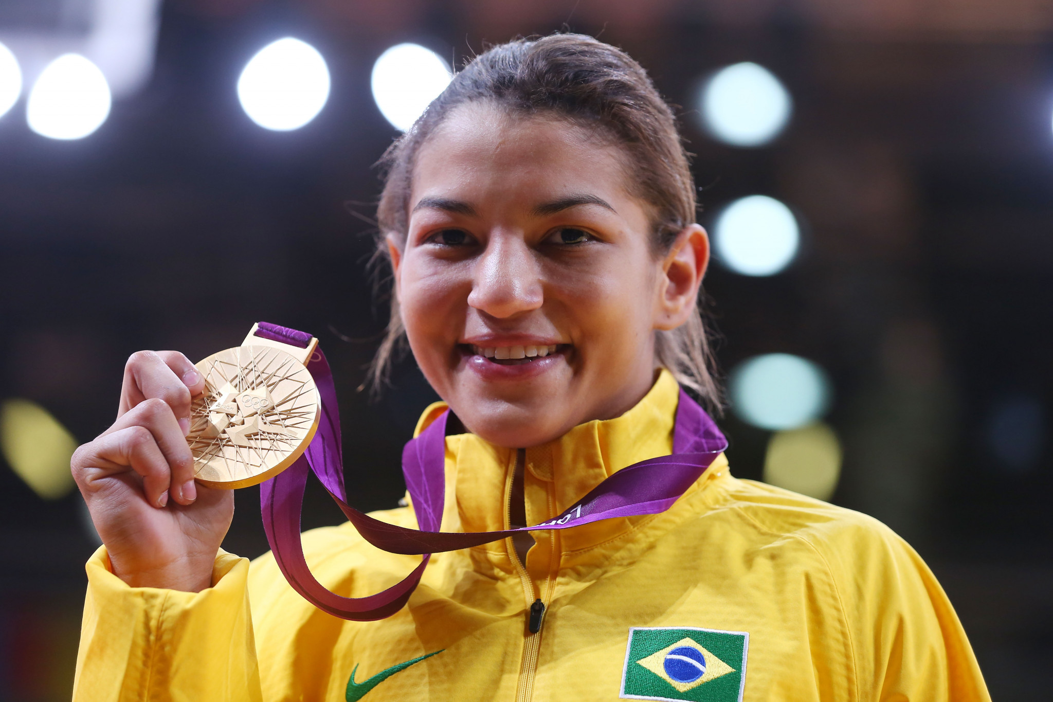 Sarah Menezes won Olympic judo gold at London 2012 having previously taken part in the Youth School Games ©Getty Images