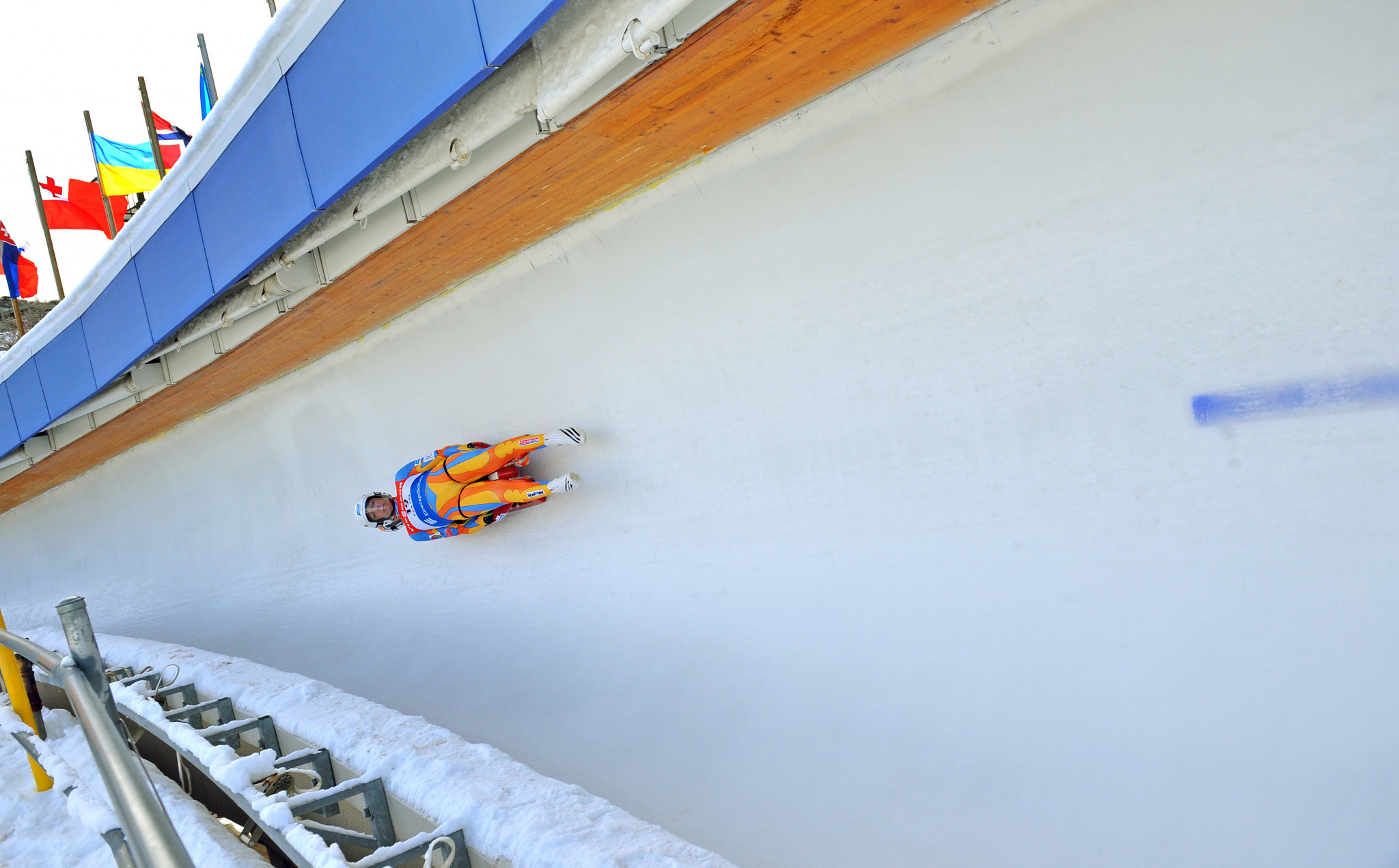 The International Luge Federation World Cup is set to take place in Sigulda in Latvia this weekend ©Getty Images