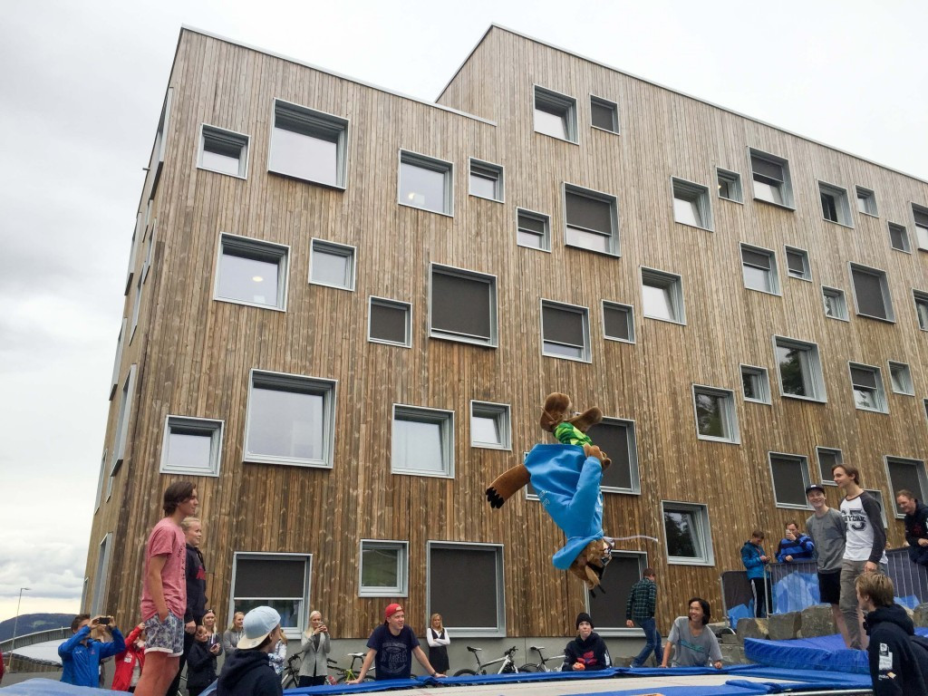 Concerns have been raised about a lack of space within the Athletes' Village, which was officially opened last month ©Lillehammer 2016