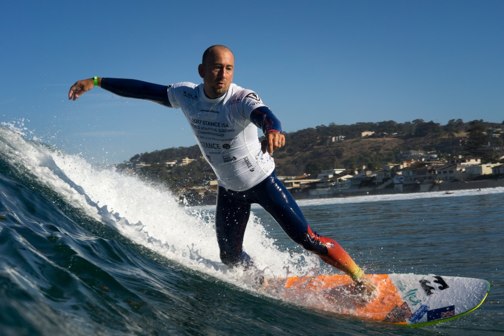 La Jolla ready for ISA World Adaptive Surfing Championships