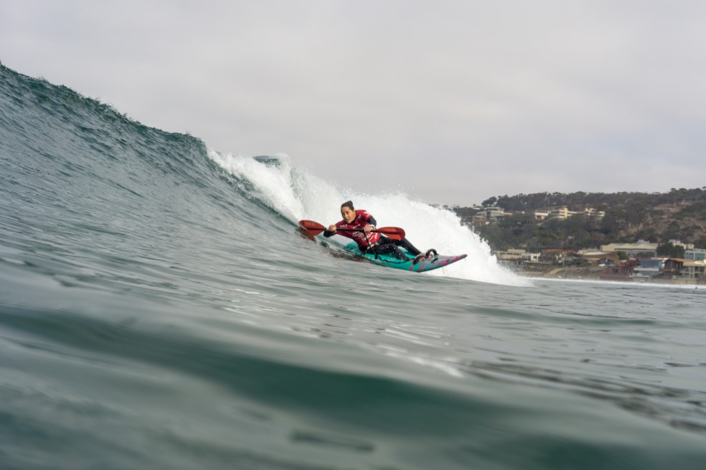 Categories include the men's women's AS-3 divisions, for those who ride waves while seated ©ISA/Sean Evans