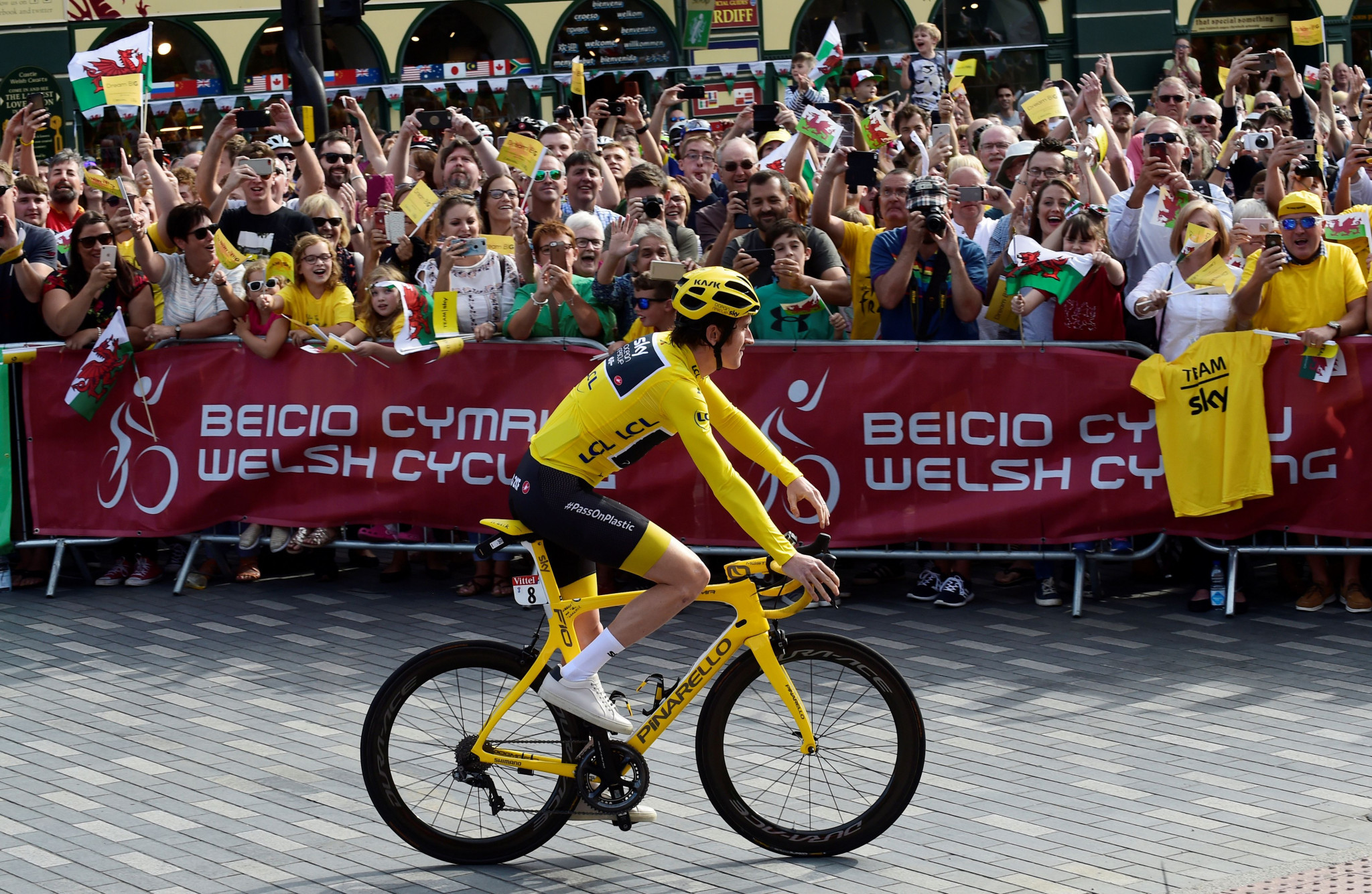 Team Sky's success included Geraint Thomas winning this year's Tour de France ©Getty Images
