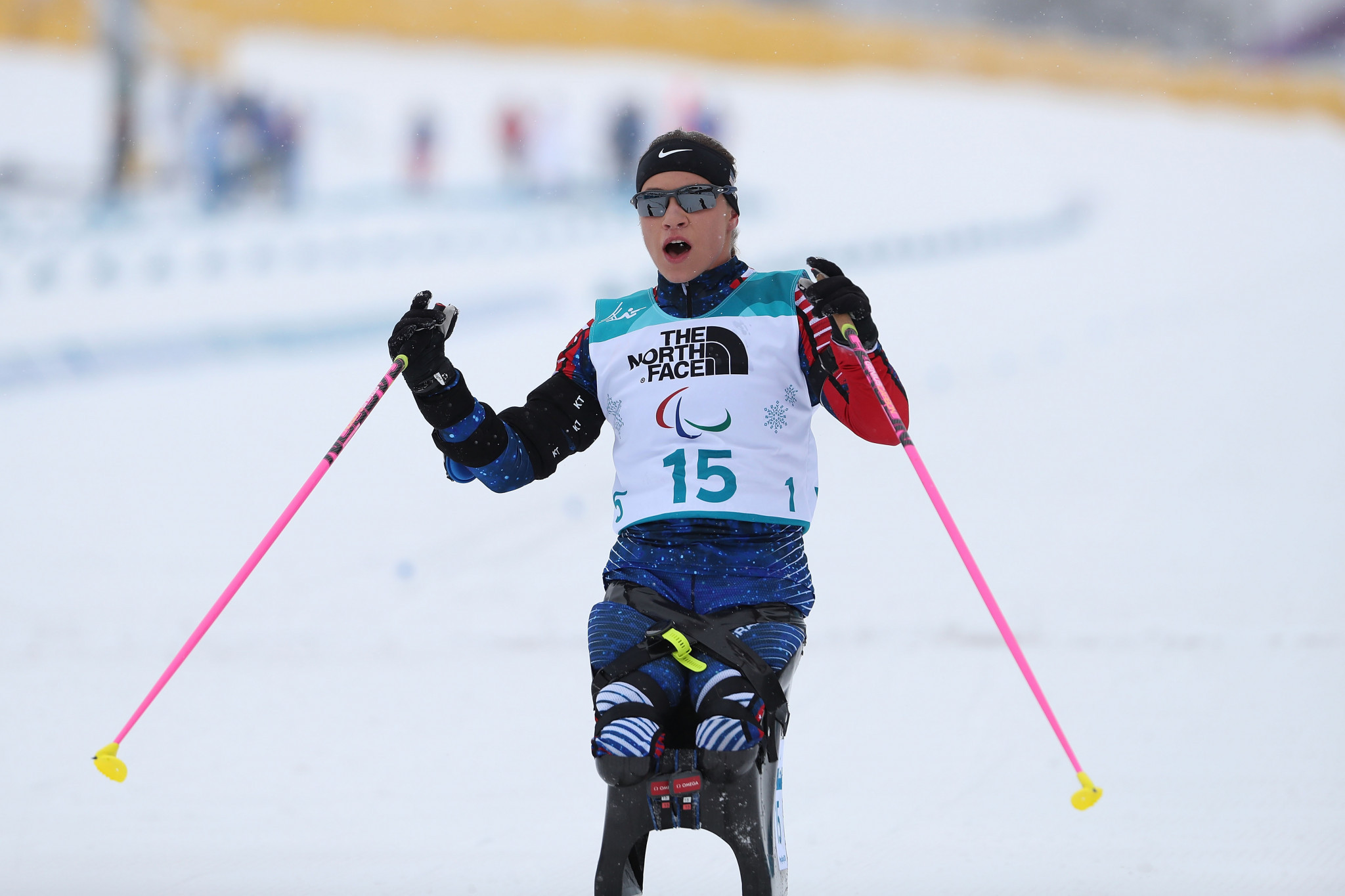 America's Oksana Masters won this year's first Allianz IPC Athlete of the Month award in January ©Getty Images