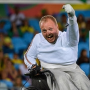 Pranevich on a mission at IWAS wheelchair fencing World Cup in Kyoto
