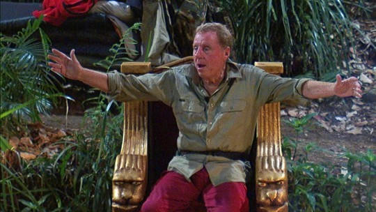 Harry Redknapp was crowned the winner of I'm a Celebrity...Get Me Out of Here! ©ITV