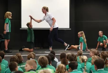 The AOC say the programme has already inspired 23,000 school children ©AOC