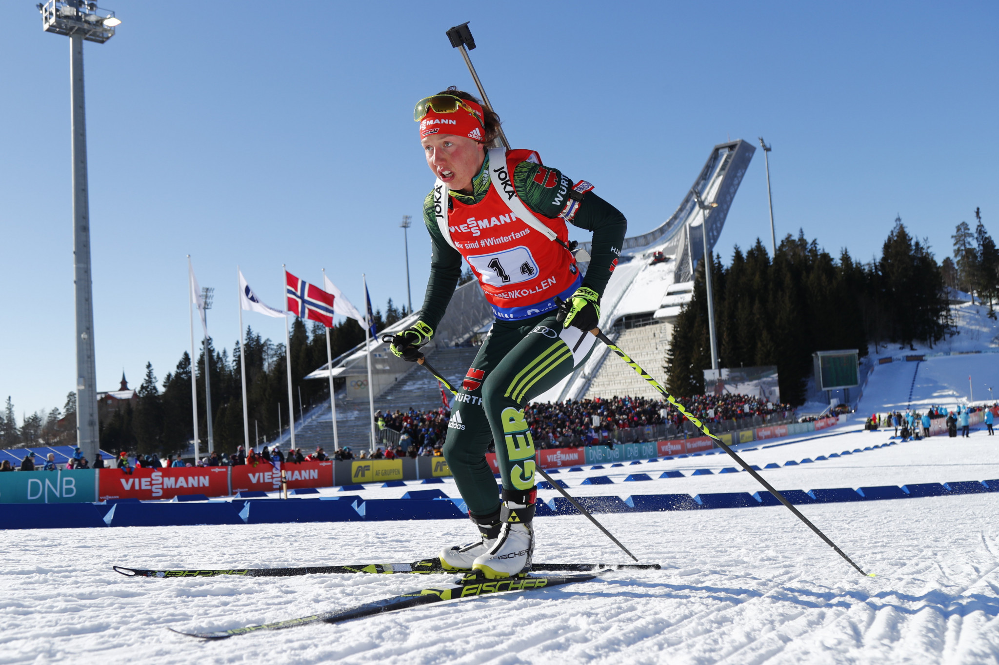 Dahlmeier return to IBU World Cup circuit draws nearer on eve of Hochfilzen leg