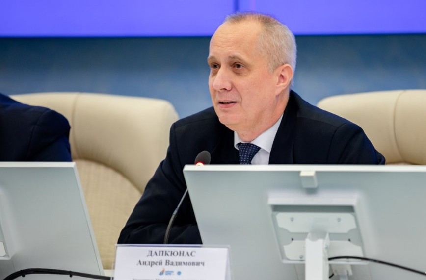 Deputy Minister of Foreign Affairs of the Republic of Belarus Andrei Dapkiunas told the diplomats in attendance that organisers were on track and were meeting their deadlines ©Minsk 2019