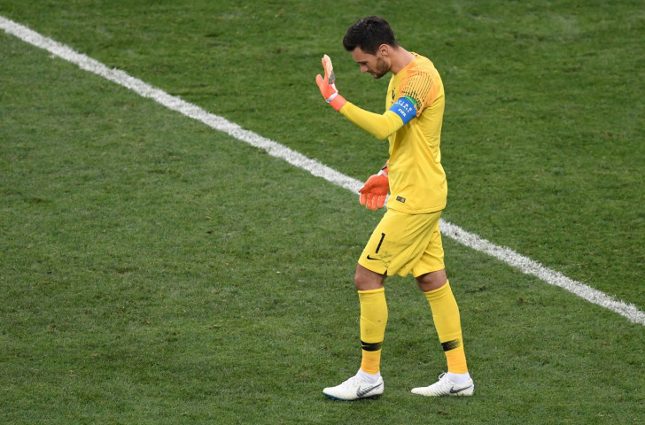 Sorry guys! France's captain and keeper Hugo Lloris acknowledges his costly error in this year's FIFA World Cup final against Croatia ©Getty Images