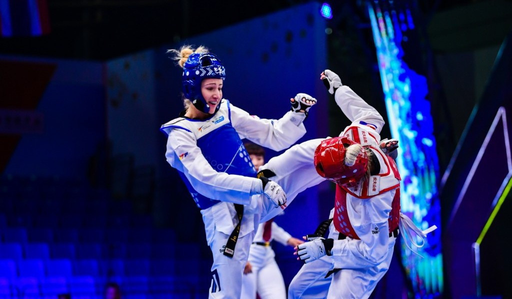 Kim edges through to women's under-49kg quarter-finals at World Taekwondo Grand Slam Champions Series